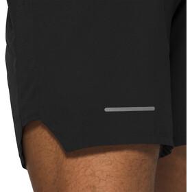 "asics Road 7"" Shorts Heren, zwart"